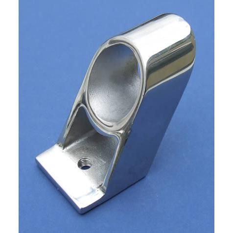 60° Double-bar Centre Stanchion - Stainless Steel - Mirror - 316 - JSLB09