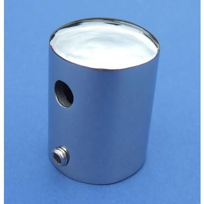 Stanchion Cap - Stainless Steel - Mirror - 316 - JSLB11