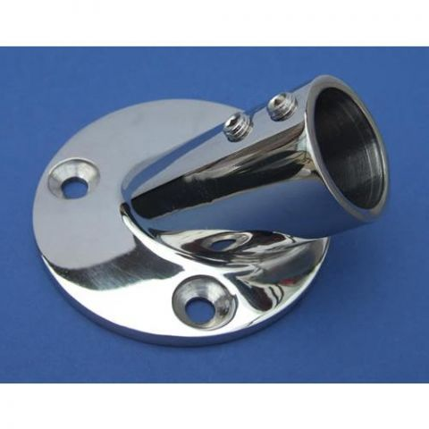 Round Base 45° - Stainless Steel - Mirror - 316 - JSLB15
