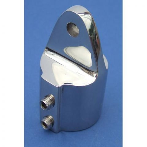 Top Cap with Hump - Stainless Steel - Mirror - 316 - JSLB20
