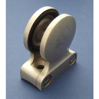 Round-back Button Glass Clamp for 10mm Glass - Stainless Steel - Satin - 316 - JSLC01