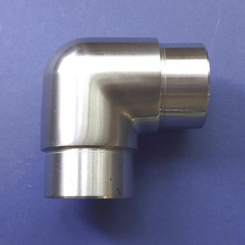 90° Elbow - Stainless Steel - Satin - 316 - JSLD01
