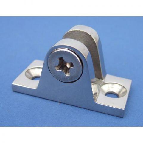 Extra Heavy Duty Deck Hinge Plate - Stainless Steel - Mirror - 316 - JSLZ03