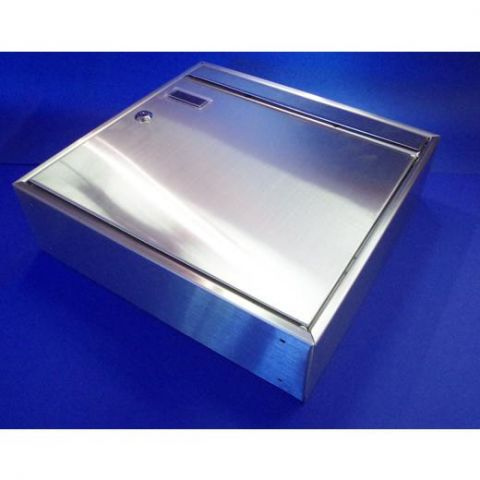 Mailbox - Stainless Steel - Satin - JSMC03