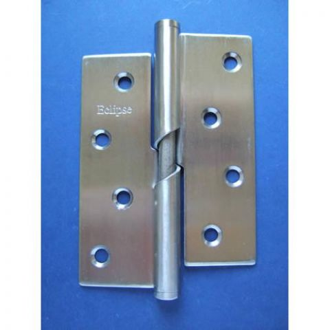 4 Inch Rising Lift Off Hinge - Right-hand - Stainless Steel - Satin - 304 - JSPL10R