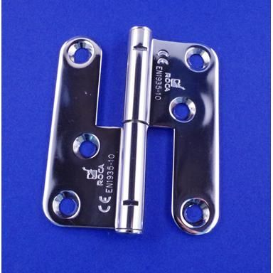 Lift Off Hinge - Right-hand - Stainless Steel - Mirror - 316 - JSPL15R
