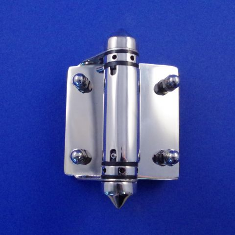 Spring Hinge - Stainless Steel - Mirror - JSPR16