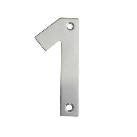Screw Fix Numerals: 0-9 - Stainless Steel - Satin - MHDF012