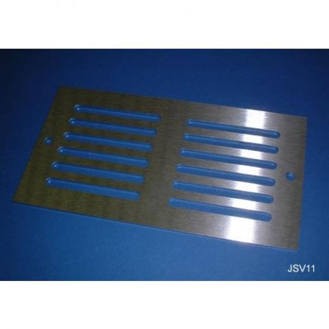 Ventilation Grille - Stainless Steel - Satin - 304 - JSV11