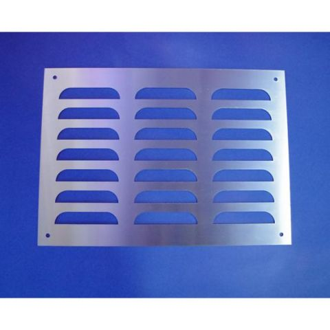 Louvre'less Ventilation Grille - Stainless Steel - Satin - 304 - JSV39