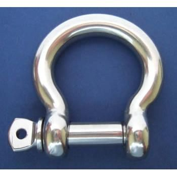 Bow Shackle with Screw Collar Pin