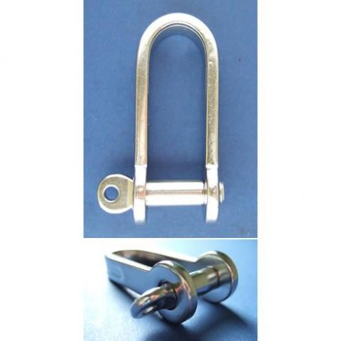 Strip D Shackle with Screw Pin