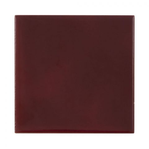 Plain Dark Red Tiles