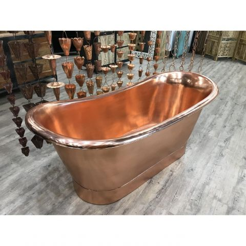Copper In and Out Bath - Copper - Copper Outside and Inside - MHBA024