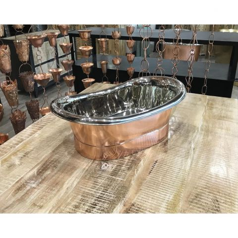 Copper Outside and Nickel Inside Sink