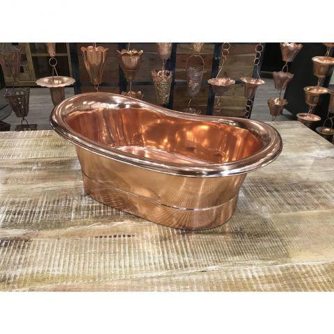 Copper Inside and Outside Sink - Copper - Copper Outside and Inside - MHSNK003