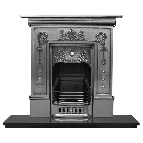 Bella Cast Iron Combination Fireplace