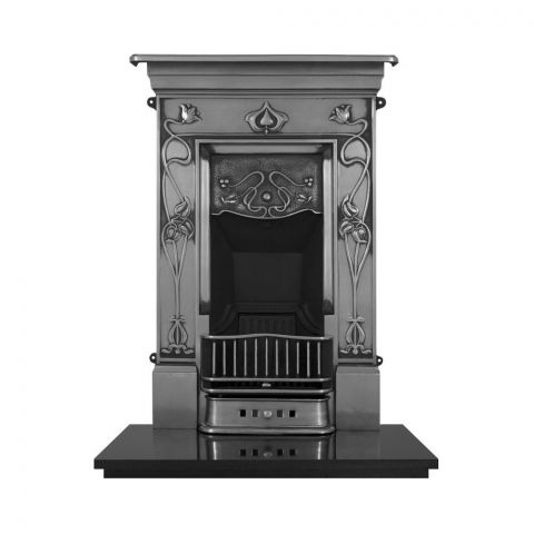 Crocus Cast Iron Combination Fireplace