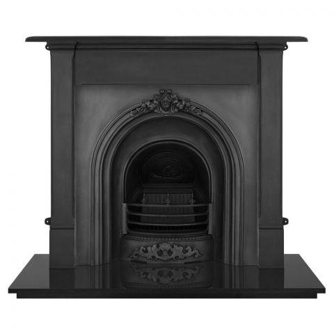 Prince Cast Iron Fireplace Insert