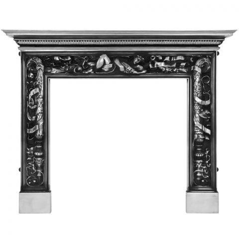 Mayfair Cast Iron Fireplace Surround