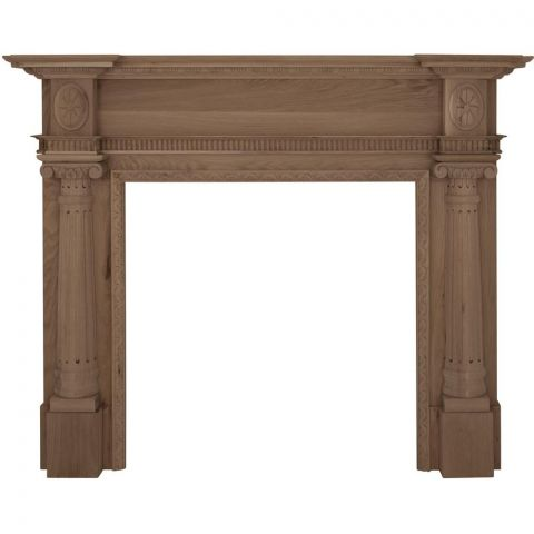Ashleigh Wooden Fireplace Surround