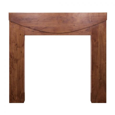 New Hampshire Wooden Fireplace Surround - Solid Acacia - Natural - MHJI532