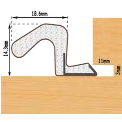 Aquatex No A17 - White Powder Coated - MHTHD1497