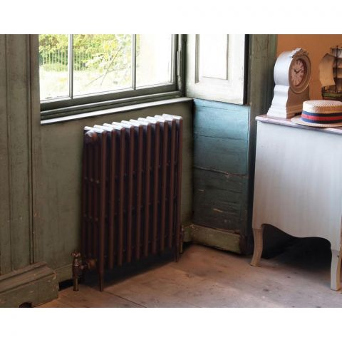 Victorian 4 Column Cast Iron Radiator