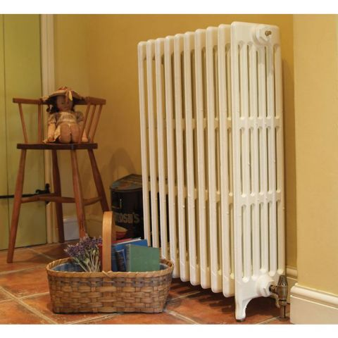 Victorian 6 Column Cast Iron Radiator