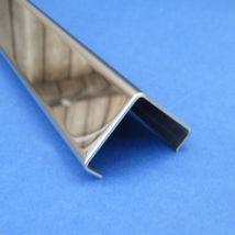 Corner Trim - Stainless Steel - Mirror Outside - 304 - JS-TRC20M