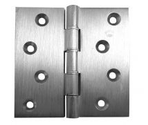 4 Inch Projection Hinge - Steel - Satin Chrome - MHPP006