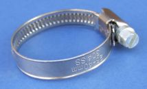 9mm wide Worm Drive Hose Clamp - Stainless Steel - 304 - JS3PA100