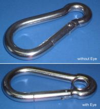 Carbine Hook - Stainless Steel - 316 - JSHC01