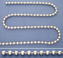 No.3 Bead Chain - Stainless Steel - 304 - JSNB01