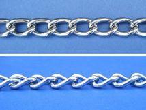 Twist Link Chain - Stainless Steel - 304 - JSNT01
