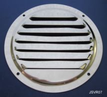 Round Louvre Ventilation Grille - Stainless Steel - Mirror - 304 - JSVR07