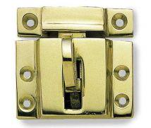 Fanlight Catch - Polished Brass - MHWF064